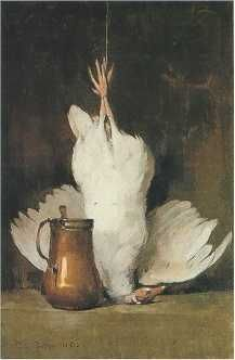 Emil Carlsen - Guinea Hen and Copper