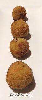 Recetas Monsieur Cuisine: Croquetas de Cabrales