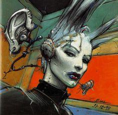 "_From ""Magma"" by Enki Bilal Enki Bilal Bd, Illustrations, Illustration Art, Heavy Metal Comic, Bd Art, Et Tattoo, Bd Comics, Art Graphique, Comic Artist"