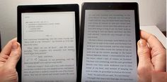 Hands-on video: comparison of an ereader and a tablet as ebook reading devices