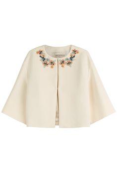 Emilio Pucci embellished cotton jacket