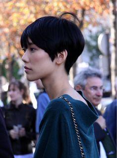 Asian pixie cut