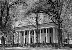 The Joseph Henry Lumpkin House, built in 1842, is a historic Greek Revival house located on Prince Avenue in Athens, Georgia