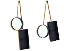 Vanity Shelf and mirror by Outofstock for Ligne Roset at imm cologne