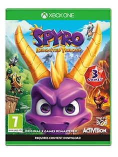 ca2dc719be Superb Spyro Reignited Trilogy Xbox One Now At Smyths Toys UK! We Stock A  Great Range Of Spyro Reignited Trilogy At Great Prices.