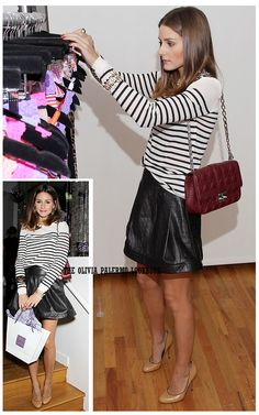The Olivia Palermo Lookbook : Spotted: Olivia Palermo at Anna Sui's Hanky Panky party.