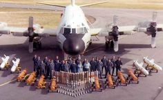 SPECIAL MILITARY AIRCRAFT - LOCKHEED P-3 ORION - FULL ARRAY OF ARMAMENT - BOMBS