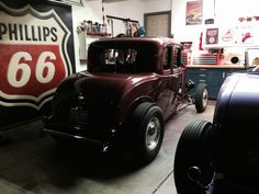 Garage built deuce