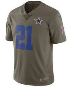 87aa1a053 Nike Men Ezekiel Elliott Dallas Cowboys Salute To Service Jersey. Salute To  ServiceJason WittenDez BryantMen s FootballNfl ...