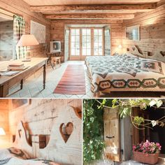 This Airbnb rental in the French Alps reminds me of a storybook cottage.