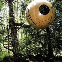 Sublime 13 Most Unique Tree House Design For Kids https://mybabydoo.com/2018/01/29/treehouse-design/ Usually, a tree house is built as simple as possible. The most important part is it is safe to climb and also can give some comforting place for everyone inside. But these ideas of tree house designs are so unique you barely see them.