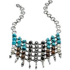 DANNIJO Zanzibar Necklaces ($645) ❤ liked on Polyvore