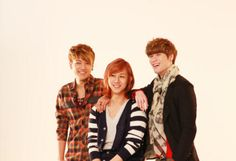 Lunafly! In this order: Yun, Teo, and Sam!!!! <3 ^^