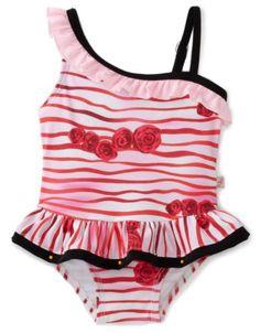 Floatimini Baby-Girls Infant Rose Print One Shoulder « Clothing Impulse