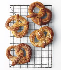 Soft Pretzels. Bypass the bagged pretzels and try these with your kids over the weekend—they take time, but are surprisingly easy. Whether you opt for salty, sweet or savory, they're a satisfying snack for weekdays, parties or game-time gatherings.