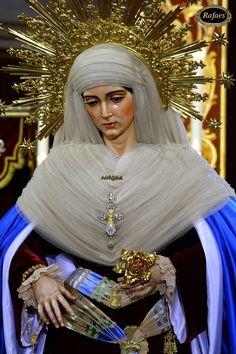 Besamanos Virgen de la Aurora. Santa Marina:::RAFAES Catholic Art, Catholic Saints, Santa Marina, Christian Artwork, Holy Mary, Art Thou, Religious Icons, Mother Mary, Our Lady