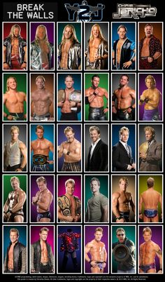 Randy Orton Poster featuring his various looks & accomplishments throughout his career.