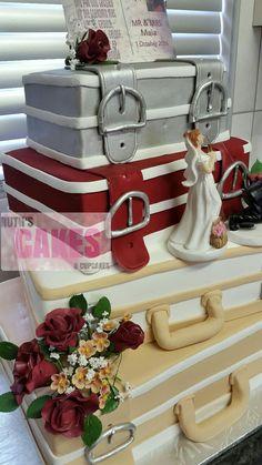 A wedding cake I made last weekend