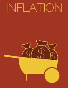 """""""Inflation"""" - Minimalist Econ Posters from NPR Planet Money"""
