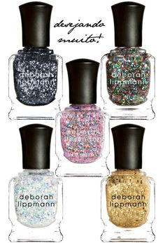 Deborah Lippmann  We love these 3D Holographic nail laquers too! http://www.arglyduckling.com/index.php/nails/nail-lacquer.html