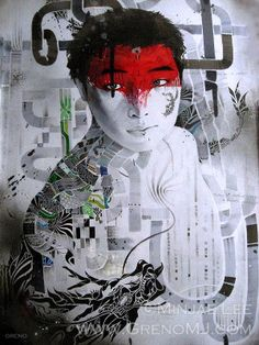 Portrait Painting Artist Study Minjae Lee ,Resources for Art Students, CAPI ::: Create Art Portfolio Ideas at milliande.com , Inspiration for Art School Portfolio, Portrait, Painting, Figure, Faces, Mixed Media, Head, Expression, Art Teacher