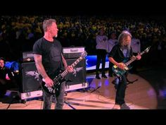Metallica Performs National Anthem Before Finals Game 5