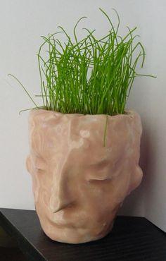 Ceramic Planter Face