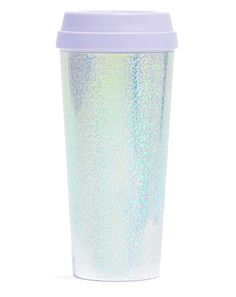 A super sparkly thermos because even mermaids need coffee.