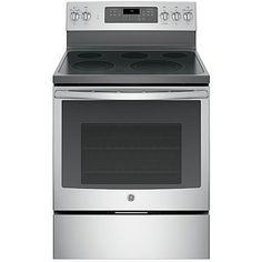 GE Appliances JB750SJSS 5.3 cu. ft. Freestanding Electric Range w/ True Convection - Stainless Steel