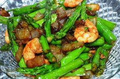 Asparagus with Oyster Sauce - Mely's kitchen