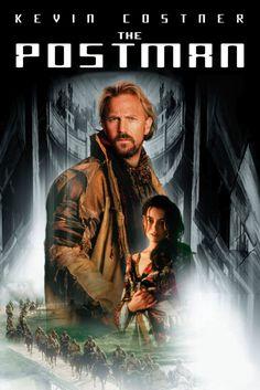 The Postman Movie Poster - Kevin Costner, Will Patton, Larenz Tate  #ThePostman, #MoviePoster, #ActionAdventure, #KevinCostner, #LarenzTate, #WillPatton