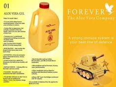 Aloe Vera Gel Forever, Forever Aloe, Aloe Vera Uses, Forever Living Products, Medicinal Plants, Immune System, Health Tips, Nutrition, Healthy