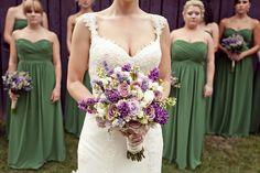 Emerald and Lavender #Cedarwood Weddings. Photo by Kate Underwood.