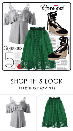 """""""ROSEGAL CONTEST"""" by ahmed4-i ❤ liked on Polyvore featuring Topshop"""