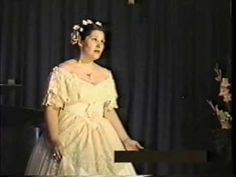 """""""Und Ob die Wolke sie verhulle"""" in the style of Jenny Lind, E Parcells - YouTube"""