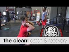 The Clean: Catch and Recovery - Technique WOD - YouTube