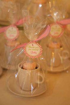 Gabriela's High Tea | CatchMyParty.com Would also make cute gift for teacher, a sick friend or birthday :)
