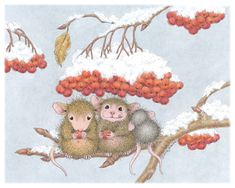 Amanda, Mudpie & Monica from House-Mouse Designs®. Click on the image to see all of the very mice products that this image is available on.