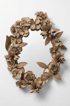 craft paper wreath