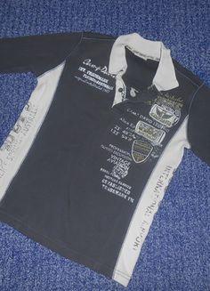 Kaufe meinen Artikel bei #Mamikreisel http://www.mamikreisel.de/kleidung-fur-jungs/pullover-mit-v-kragen/27341799-camp-david-langarm-shirt-gr-134-140-guter-zustand