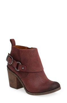 Lucky Brand 'Oppus' Cuff Bootie (Women) available at #Nordstrom