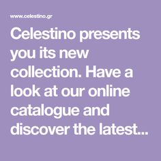 Celestino presents you its new collection. Have a look at our online catalogue and discover the latest fashion trends Fashion Outfits, Womens Fashion, Looking For Women, Latest Fashion Trends, I Shop, Presents, Clothes, Shopping, Collection