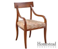 Continental Upholstered Chairs These sleek contemporary chairs have a mid-century modern feel with an emphasis on design. Pair it with other pieces within the Continental collection for a complete look. A variety of hardwoods and finishes are available to help you create the look you want. http://www.homesteadfurnitureonline.com/dining-chairs_continental-upholstered.html