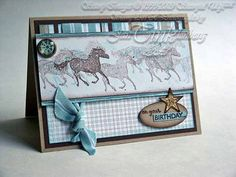 Greeting Card Birthday Horses Will Take Over Your by JanTink, $4.95