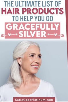 A Comprehensive List of the Best Gray Hair Products for Silver Sisters Grey Dyed Hair, Grey Hair Care, Pastel Blue Hair, Long Gray Hair, Lilac Hair, Green Hair, Leave In, Going Gray Gracefully, Aging Gracefully