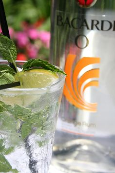 #Bacardi signature drinks at Moray's Lounge on Mission Beach
