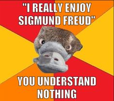 Yes!!! Can't stand Freud!