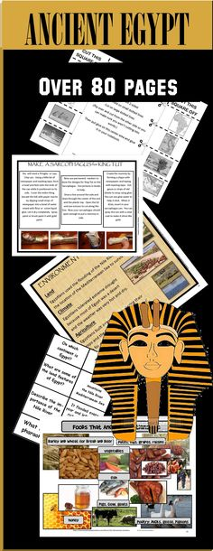 CLASSROOM ANCIENT EGYPTIAN MUSEUM: Will give you everything you need to make teaching Egypt a fantastic experience! I have made museums with my students and it is just amazing to see the end result!  You'll also get tons of materials for interactive notes, art, and hands on learning!