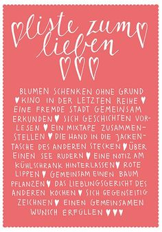 >> Liste zum Lieben