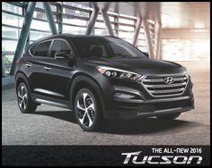 The 2016 Hyundai Tucson is here! http://blog.nobodydealslike.com/index.php/2015/07/30/intense-styling-intense-performance-the-new-2016-hyundai-tucson-is-here/ #2016HyundaiTucson #2016Tuscon #BankStreetHyundai #HyundaiOnHuntClub #Dilawri